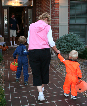 Trick or treat neighbors